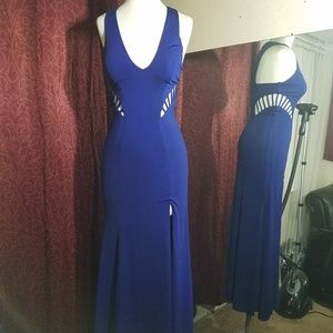 Dresses & Skirts - Sz 5 prom dress with cut out sides